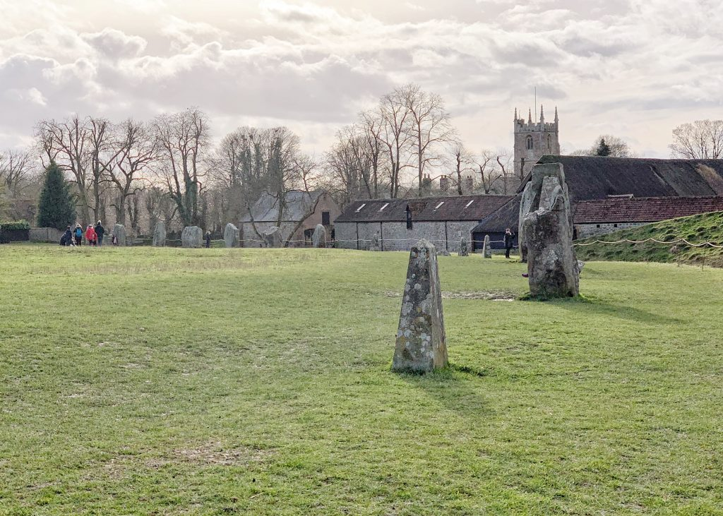 Stone Circle at Avebury, Wiltshire