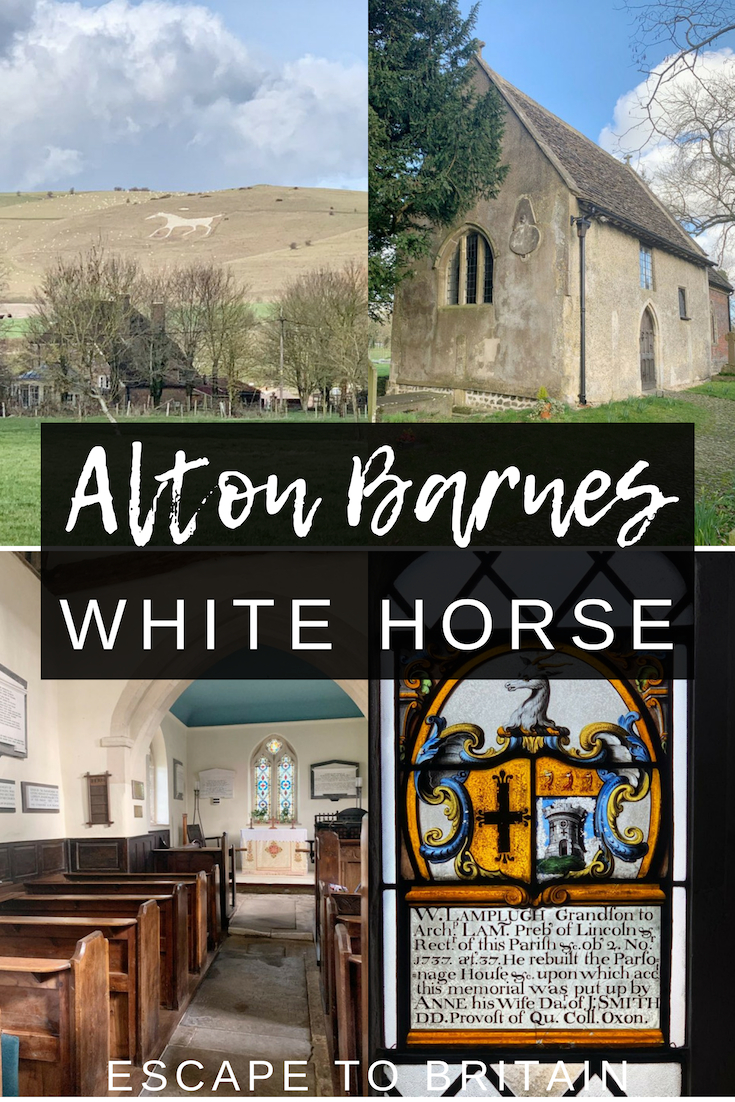 Alton Barnes: Home to an Anglo-Saxon Church and a White Horse in Wiltshire, England