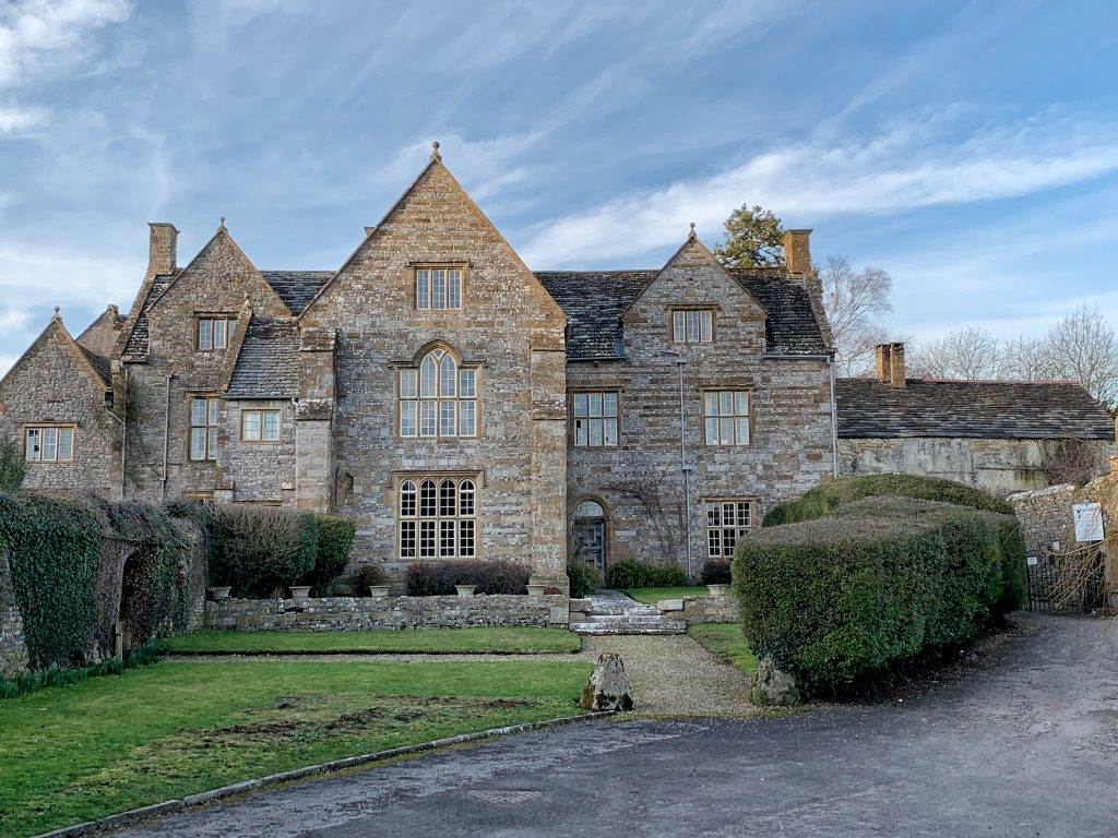 'Cerne Abbey Farmhouse' - the aouthern gatehouse to Cerne Abbey in Dorset