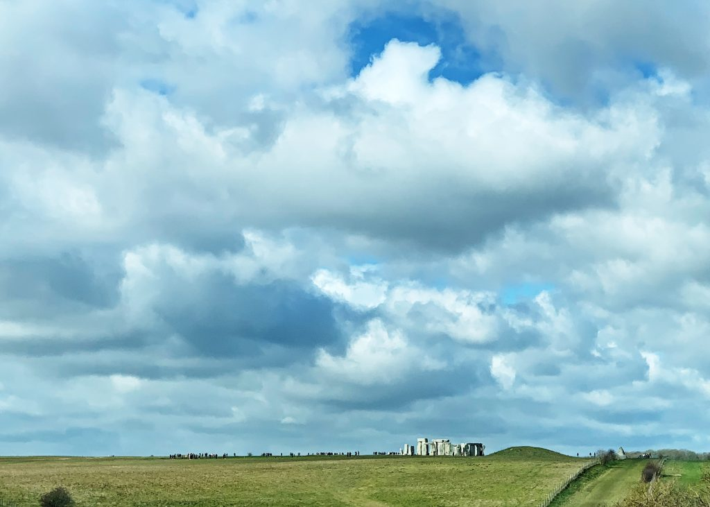 View of Stonehenge from the A303