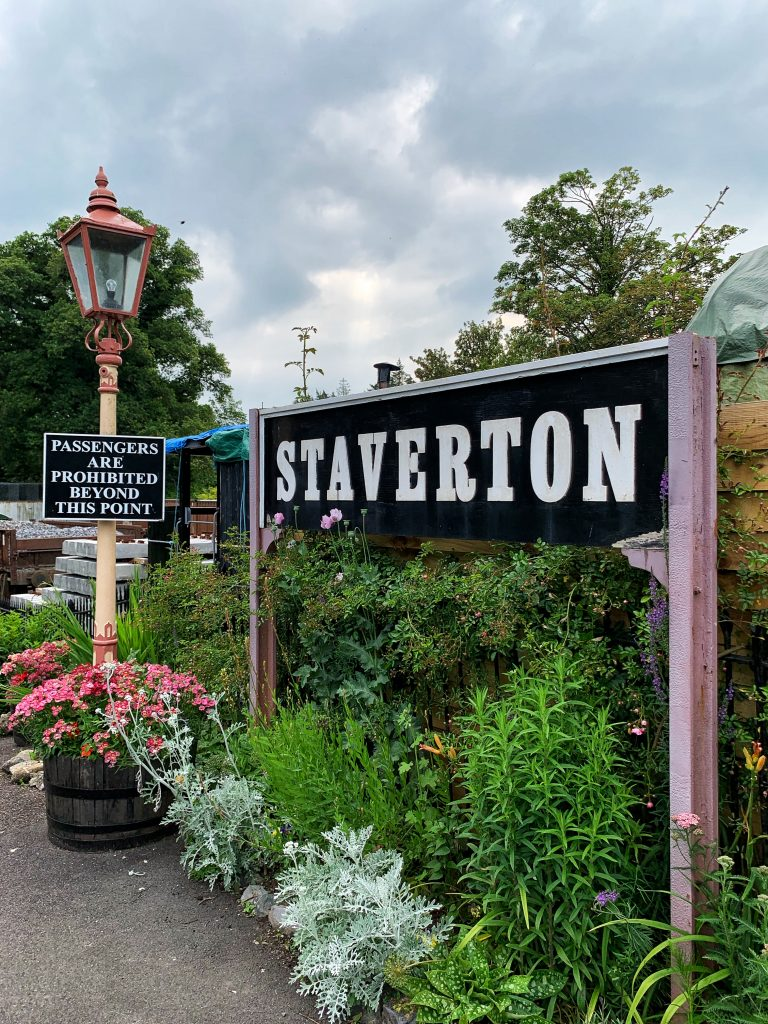 Staverton Station, Devon