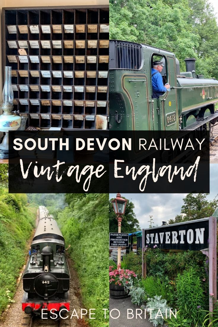 A Nostalgic Trip Down Memory Lane with the South Devon Railway. Here's how you can ride on a vintage steam train in South West England, Europe