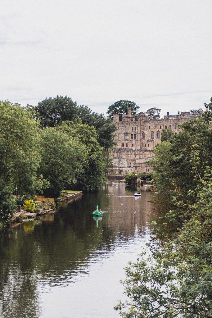 warwick castle and river avon