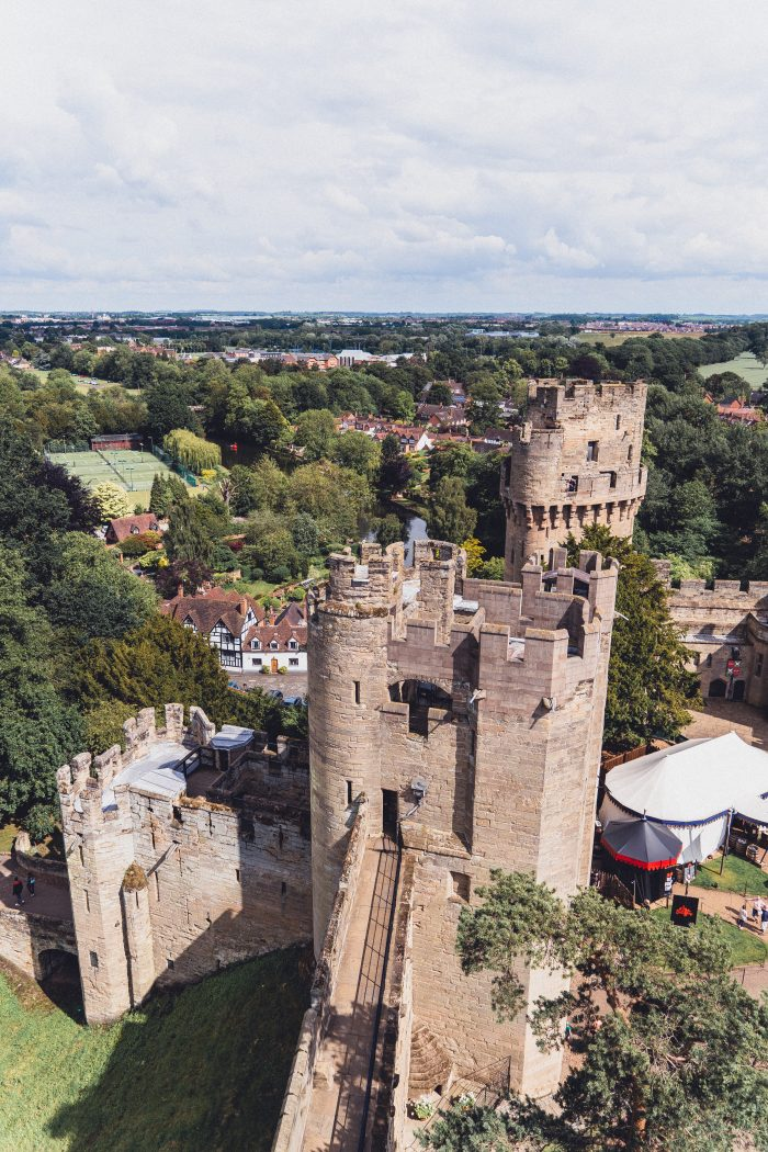 Here's Where to Find the Best View of Warwick Castle