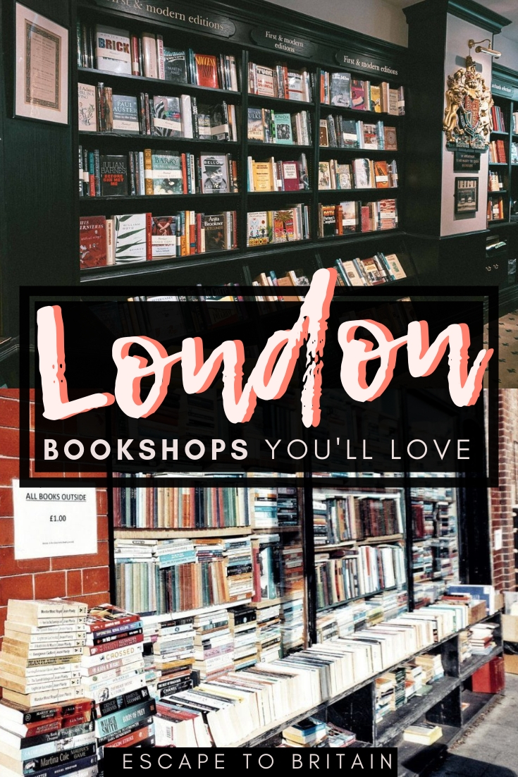 Here's your ultimate guide to the best of hidden gems and secrets of London bookshops. Looking for the best bookstores in London, the UK capital city of England? here's a complete itinerary