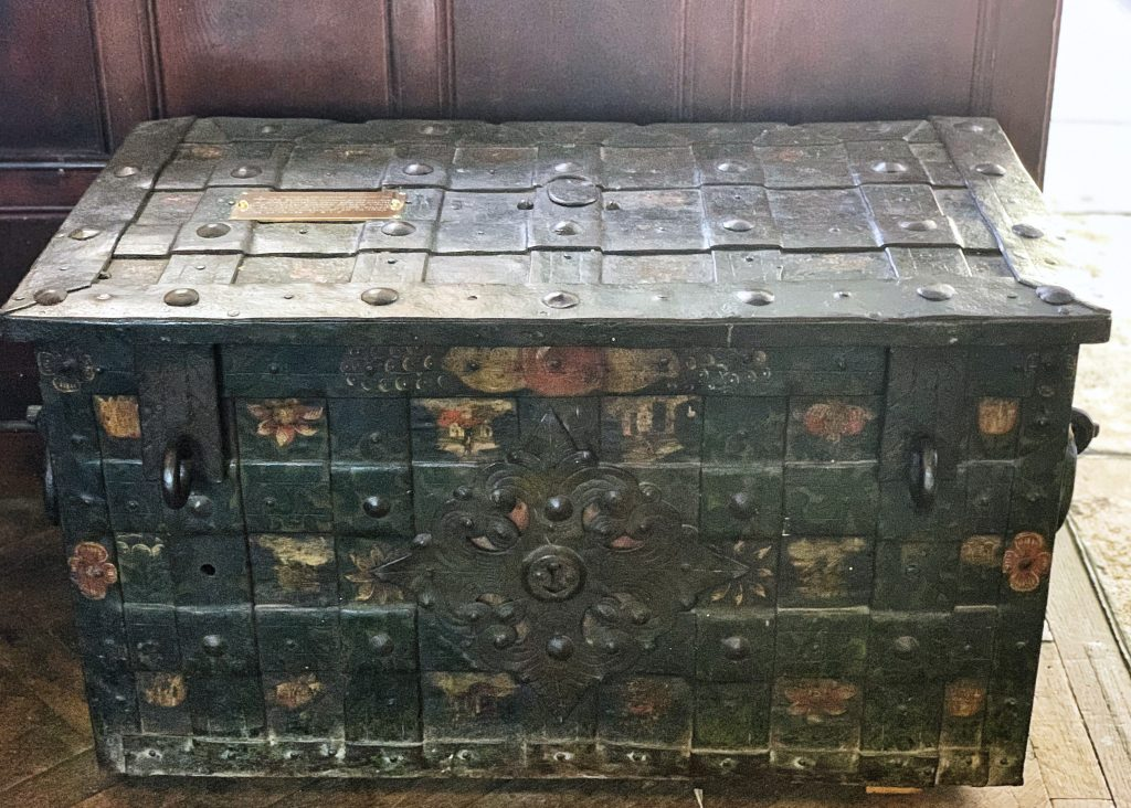 The Armada Chest at St. Saviour's Church in Dartmouth