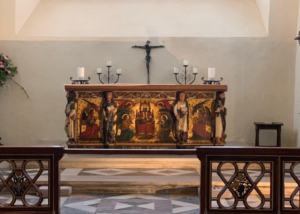 The High Altar at St. Saviour's Church in Dartmouth