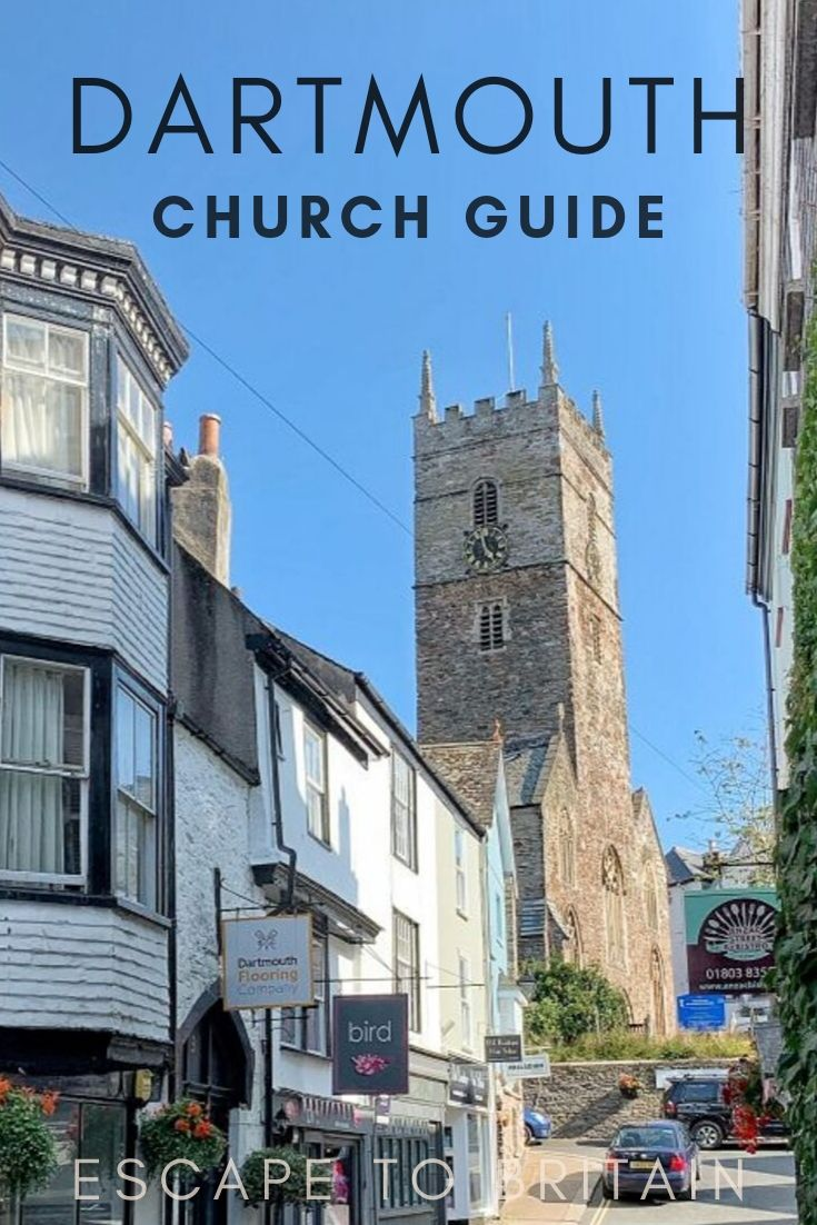 St. Saviour's Church - A Hidden Gem in Dartmouth, Devon, England, UK
