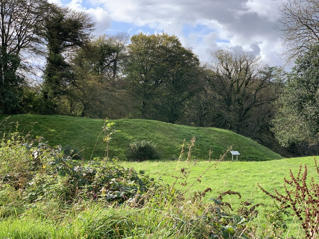 Saxon Walls at Lydford in Devon