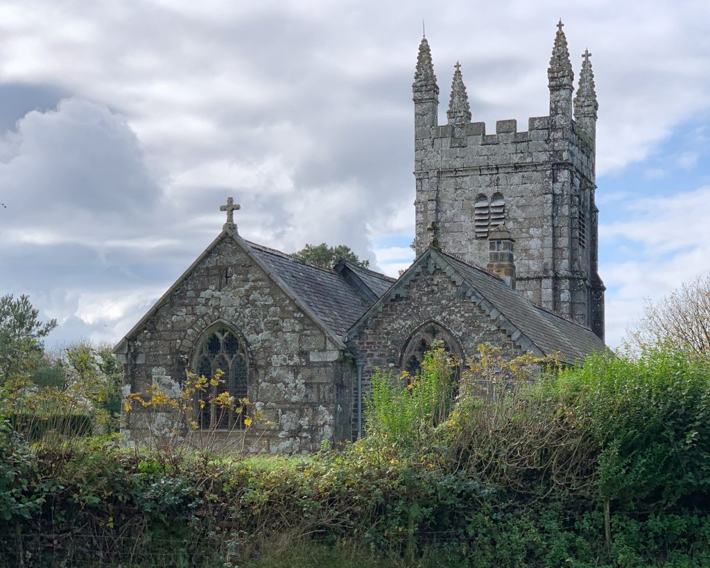 St. Petrock's Church in the Village of Lydford, Devon