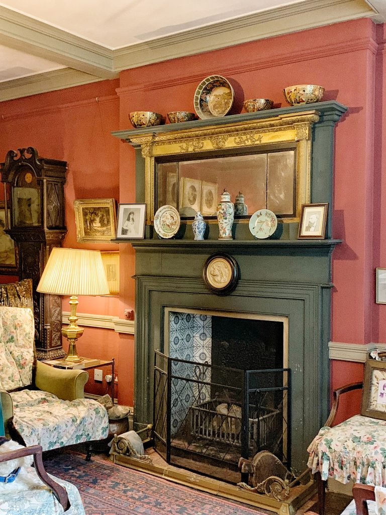 The Drawing Room at Max Gate - Thomas Hardy's House in Dorchester