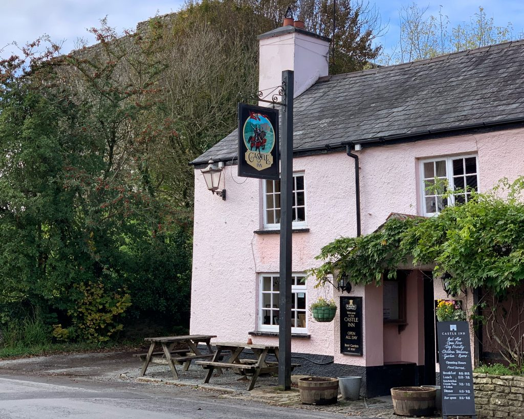 Castle Inn at Lydford in Devon