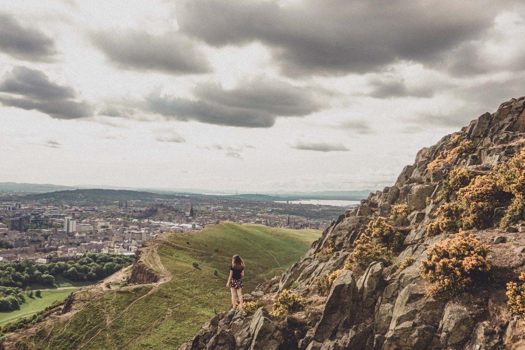 Arthur's Seat view, Edinburgh, Scotland
