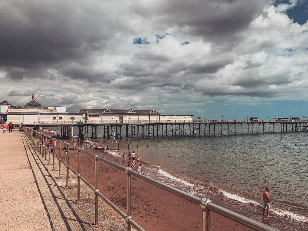 Teignmouth Sea front, Devon, England