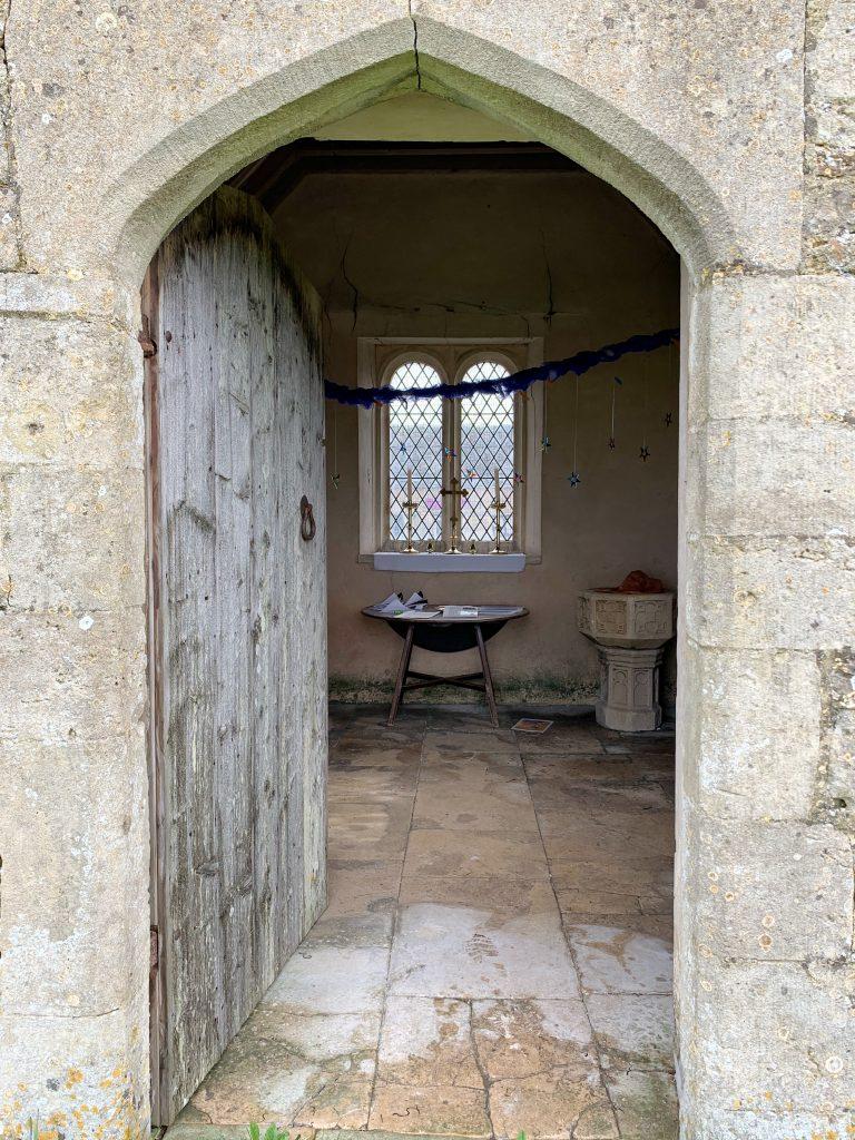 Entrance to Bremilham Church