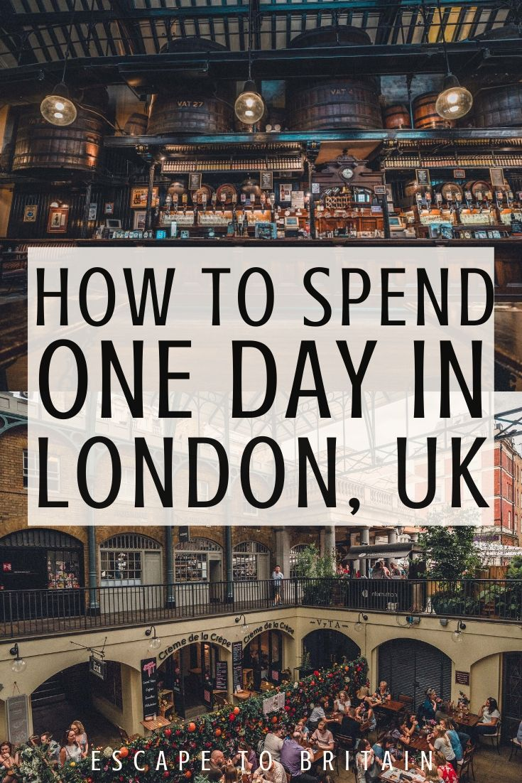 Your Perfect One Day in London Itinerary (by a local)! 24 hours in London itinerary and best things to do in London England UK