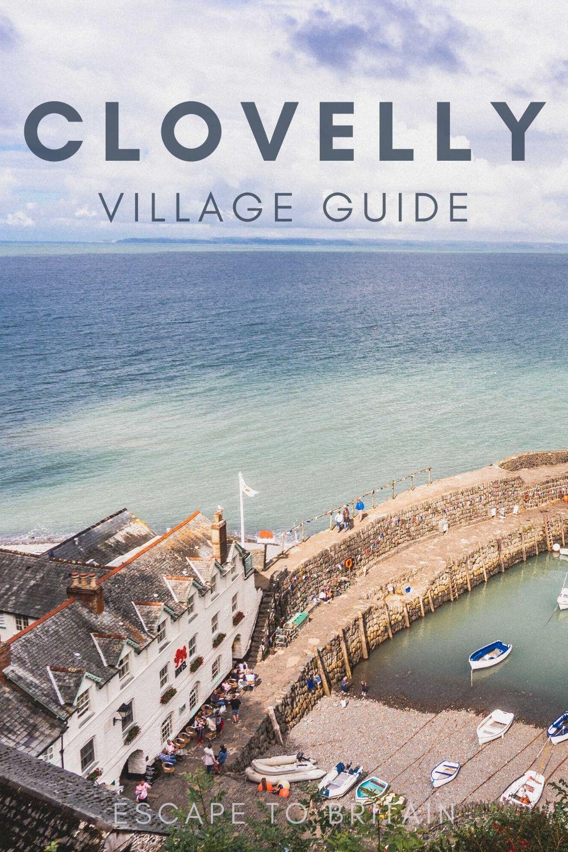 A Walking Tour of Clovelly, North Devon's Prettiest Village: things to do in Clovelly Devon England