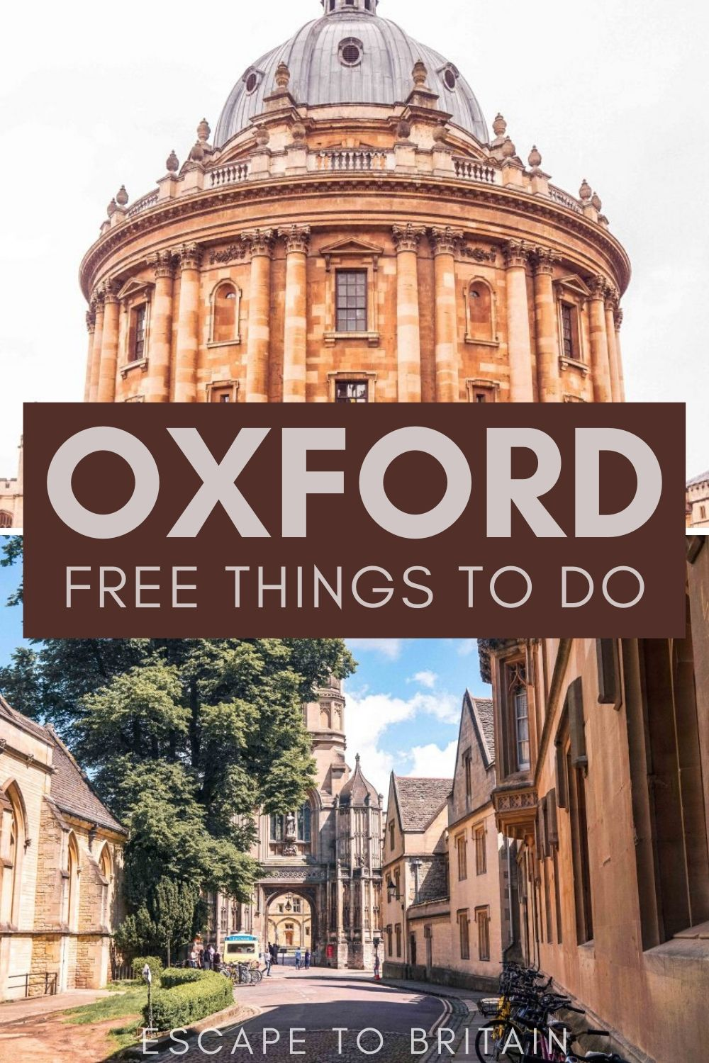 Best of Oxford England/ 5+ Budget, Fun & Free Things to do in Oxford, England
