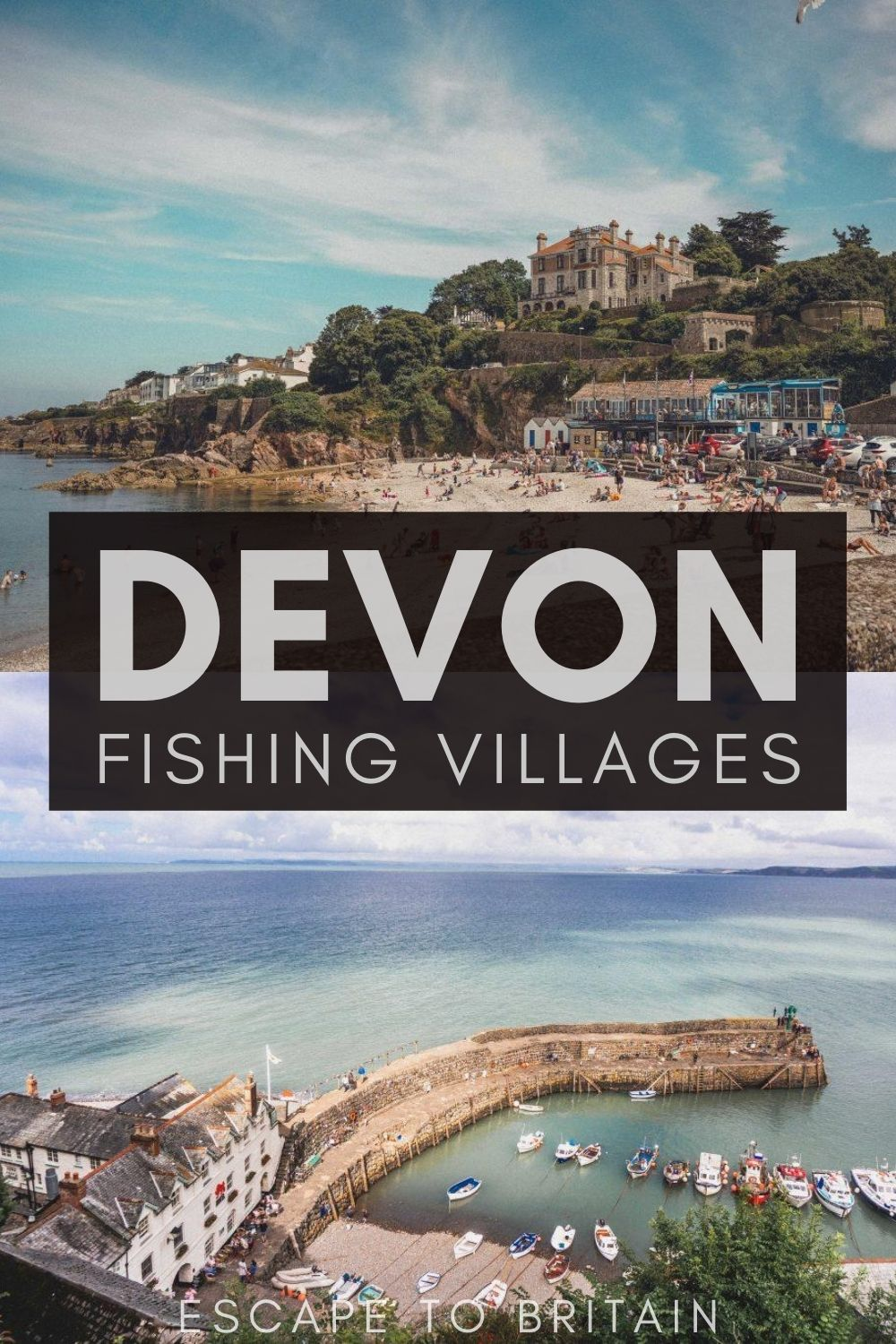 Fishing Villages in Devon You'll Simply Love to Visit/ Devon towns in England to add to your english bucket list